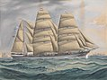 Sailing vessel Northbrook at sea RMG PY8590.jpg