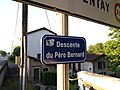 Saint-Georges-de-Reneins - Descente du Père Bernard (plaque) (juin 2018).jpg