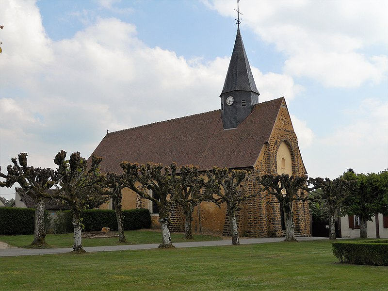 Église Saint-Martin de La Croix-du-Perche,  (Classé, 1934)