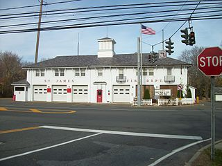 St. James, New York Hamlet and census-designated place in New York, United States