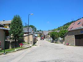 A view within the village of Sainte-Luce