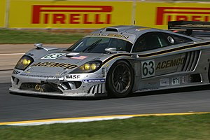 Saleen - Saleen S7R of ACEMCO Motorsports at 2004 Petit Le Mans
