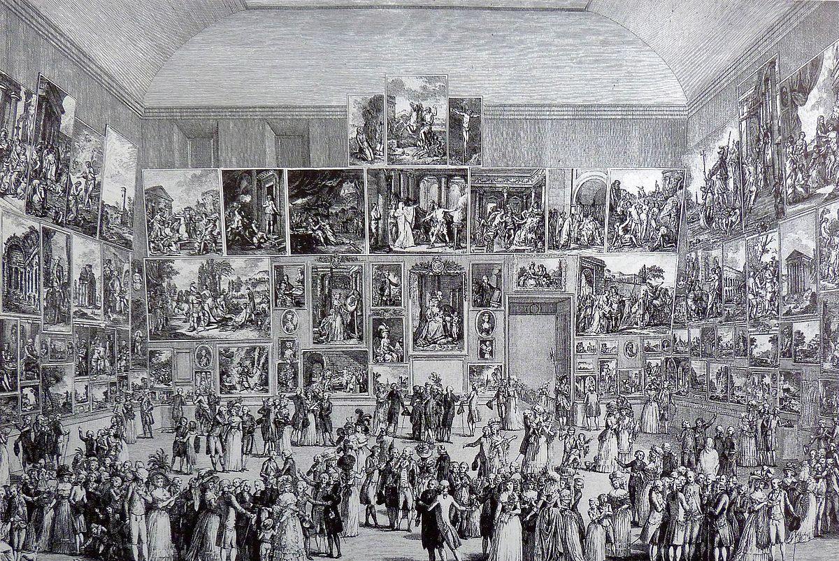 Salon de peinture et de sculpture wikip dia for Salons de paris