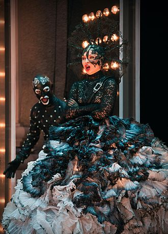 Das Labyrinth - Julia Novikova as Queen of the Night at the Salzburg Festival 2012