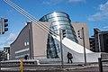 Samuel Beckett Bridge Plus The Conention Centre Dublin - panoramio.jpg