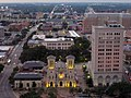 San Fernado Cathedral and Municipal Plaza Building, San Antonio.jpg