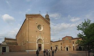 Basilica of San Francesco (Siena) - Exterior of the Basilica of San Francesco