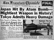 San Francisco Chronicle August 7, 1945.jpg
