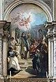 San Salvador Interno - Francesco Fontebasso San Leonardo tra i santi Lorenzo Giustiniani, Andrea e Nicolo.jpg