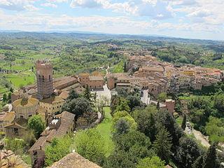 San Miniato Comune in Tuscany, Italy