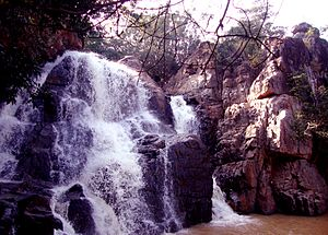 English: sanaghagara waterfall