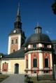 Sankta Ragnhilds kyrka i Södertälje sett från Stortorget.png