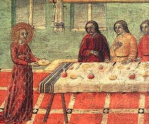 Saint Petronilla - Saint Petronilla, Sano di Pietro.