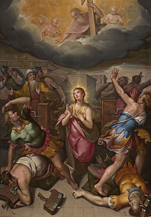 Denis Calvaert - The miracle of Saint Catherine