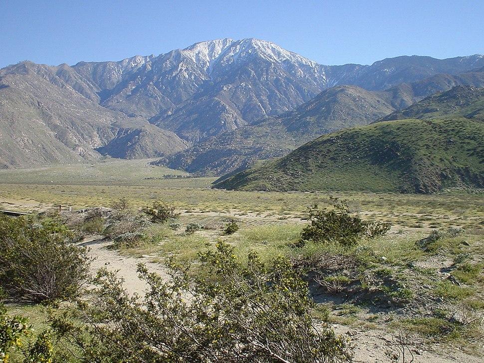 Santa Rosa and San Jacinto Mountains 283