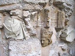 Detalle de capella sepulcral