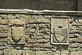 Santa croce, loggiato sud, esterno stemmi 03.JPG