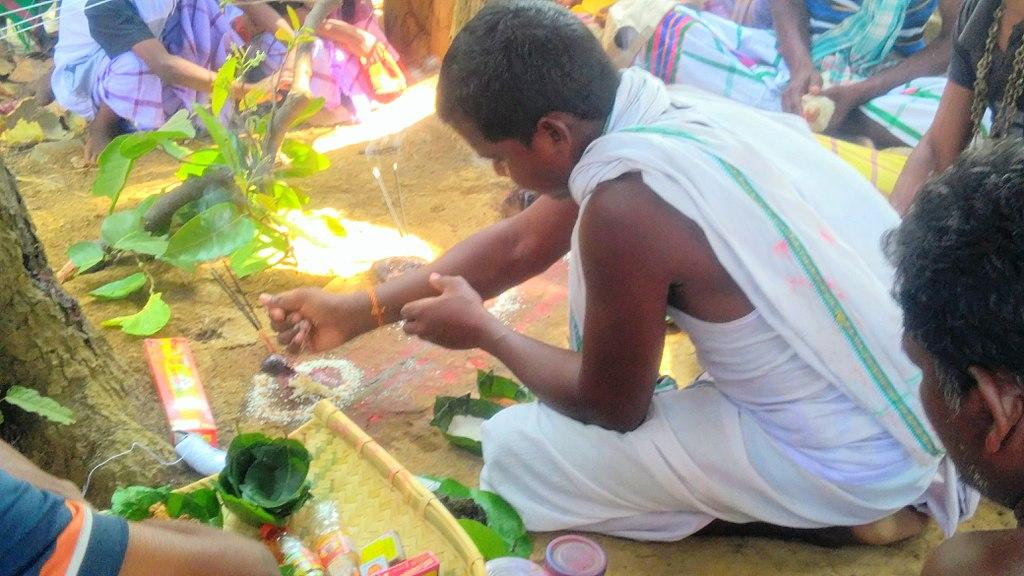 Sarhul Puja in Mayurbhanj