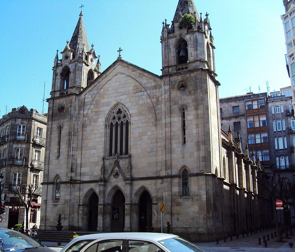Igrexa de Santiago de Vigo.