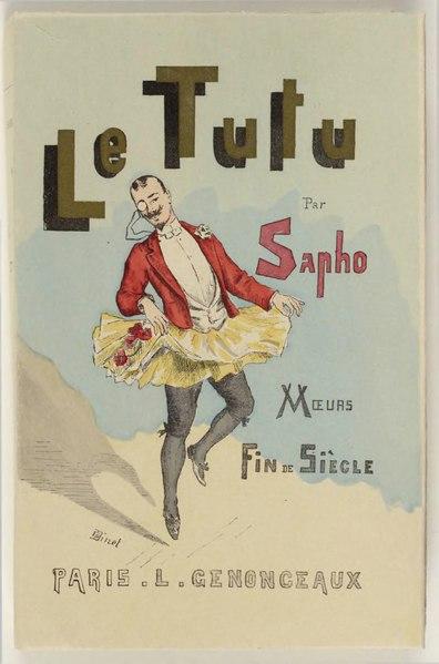 File:Sapho - Le tutu, mœurs fin de siècle, 1891.djvu