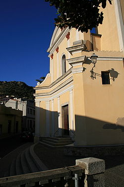 San Sebastiano Church in Arbus Sardinia
