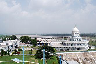 Rupnagar district - Gurdwara Shri Tibi Sahib on the banks of river Sutlej
