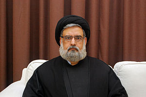 Sayyid - Sayyid Muhammad Rizvi, a Shia Islamic scholar, wearing a black turban. A black turban is worn by Ithna Ashari Shi'ite Sayyid clergymen, whilst a white turban is worn by non-Sayyid Ithna Ashari Shi'ite clergymen.