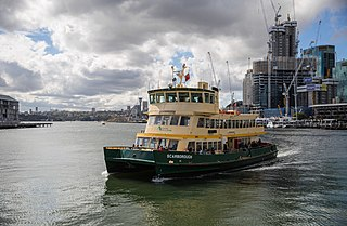 Darling Harbour ferry services