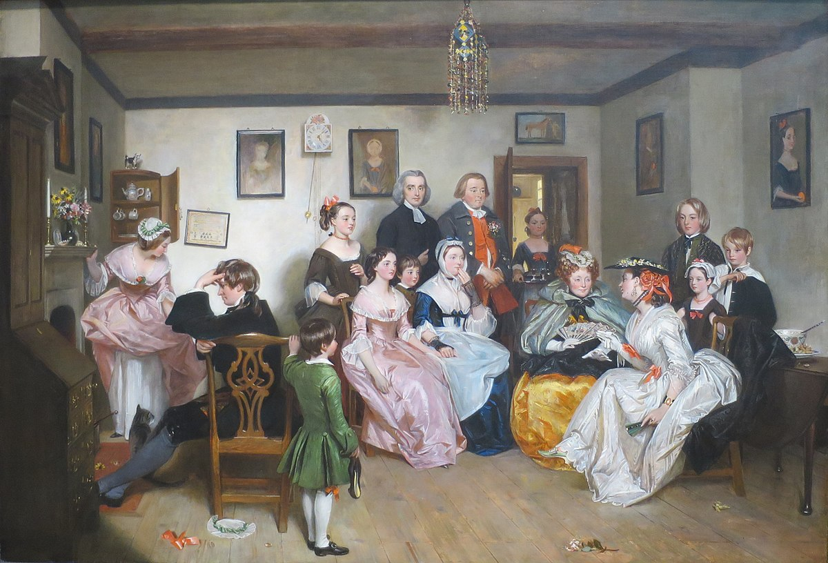 File Scene From The Vicar Of Wakefield By Charles Robert Leslie Jpg Wikimedia Commons