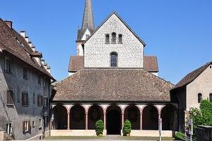 Kloster Allerheiligen, Schaffhausen - Entrance of Münster Schaffhausen