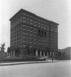 William Pitt Union - The Schenley Hotel circa 1900