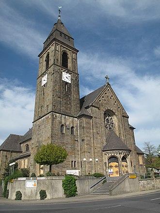 Schermbeck - Image: Schermbeck, Sankt Ludgeruskirche foto 2 2011 04 09 16.09