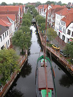 Buxtehude Place in Lower Saxony, Germany