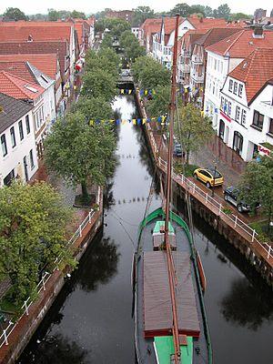 Buxtehude - Image: Schittwedder in Buxtehude