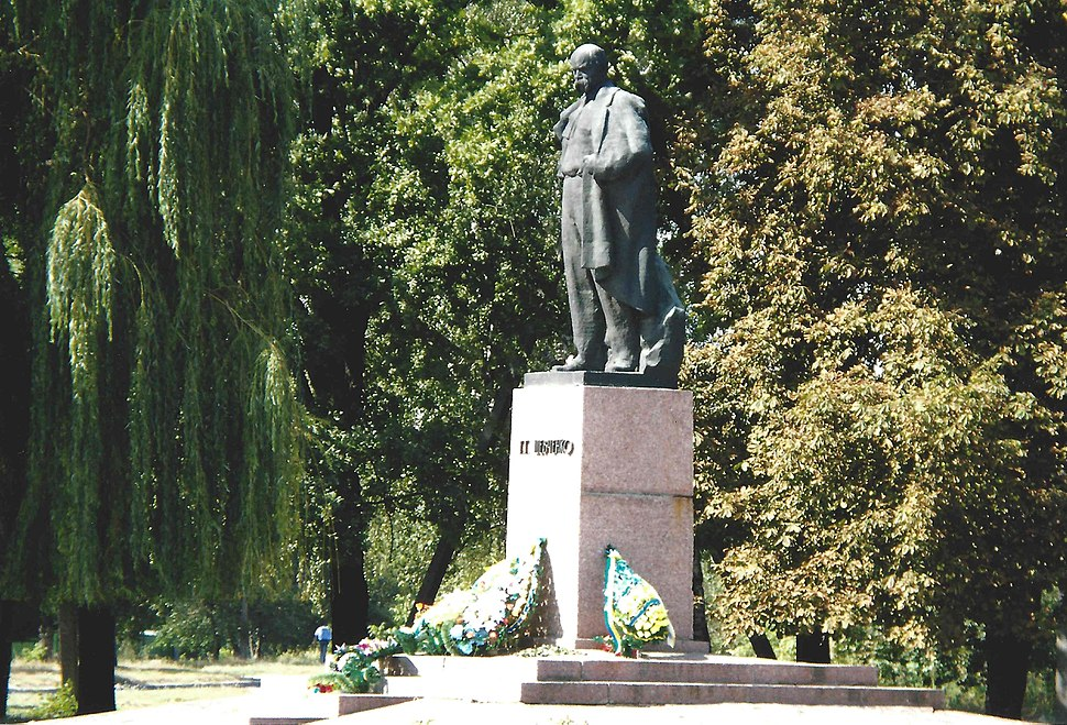 Schpola Ukraine Sept2008 Taras Shevchenko statute
