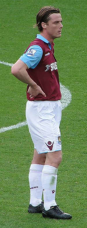 Scott Parker - Parker playing for West Ham United in 2011
