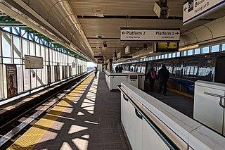 Scott Road station Metro Vancouver SkyTrain station