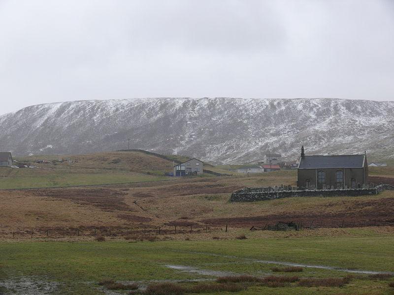 Scrae Field, above Easter Quarff