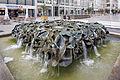 Sculpture Staendehausbrunnen Emil Cimiotti Karmarschstrasse Hanover Germany 01.jpg