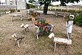 Sculptures bois Bilheux Ecublé Tremblay-les-Villages Eure-et-Loir France.jpg
