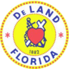 Official seal of DeLand, Florida