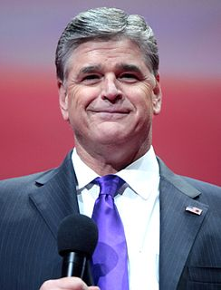 Sean Hannity American television host, conservative political commentator