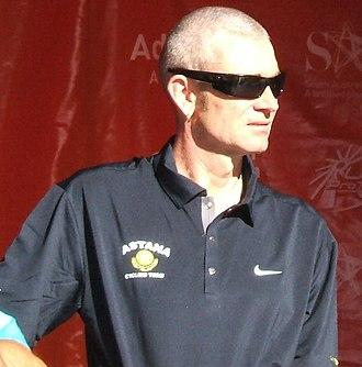 Sean Yates - Yates in 2009