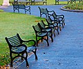 Seats, Botanic Gardens, Belfast - geograph.org.uk - 597015.jpg