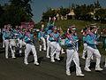 Seattle - Fiestas Patrias Parade 2008 - Sealth HS marching band 02.jpg