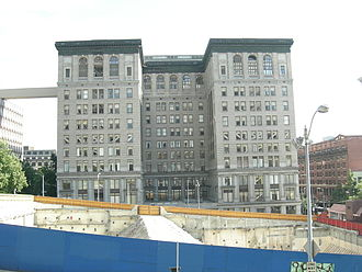 King County, Washington - The present King County Courthouse (2007)