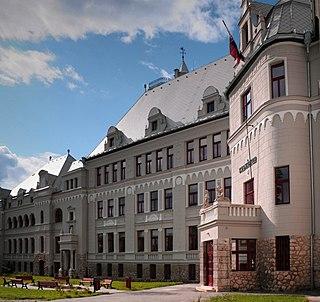 Ján Francisci-Rimavský Gymnasium school in Levoča, Slovakia
