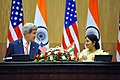 Secretary Kerry and Foreign Minister Sushma Swaraj address reporters during news Conference following strategic dialogue (1).jpg