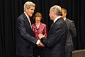 Secretary Kerry greets French Foreign Minister Fabius.jpg
