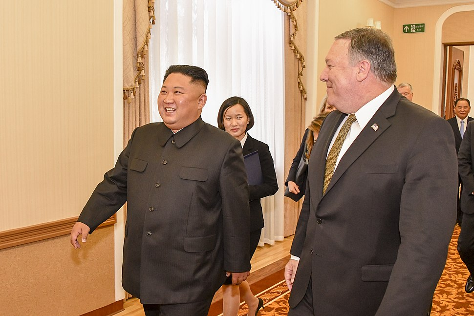 Secretary Pompeo and Chairman Kim Attend Working Lunch in Pyongyang (44430194844)